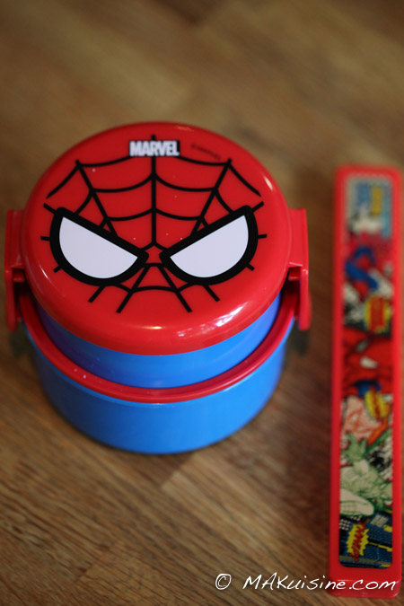 Bento spiderman